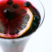 Pomegranate Blueberry Mocktail