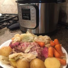 Corned Beef and Vegetables - Instant Pot