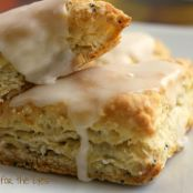 Meyer Lemon Poppy Seed Scones