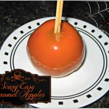 Scary Easy Werther's Caramel Apples
