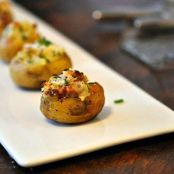 Twice-Baked Baby Potatoes
