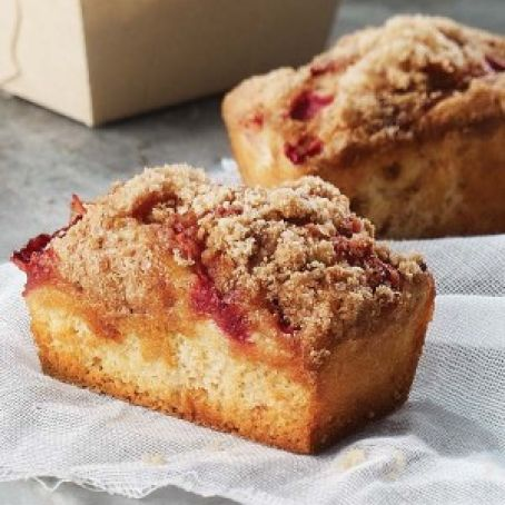 Strawberry Rhubarb Cake/Muffins