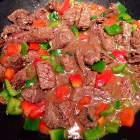 Bell Pepper Steak Stir-Fry