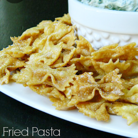 Fried Pasta Chips