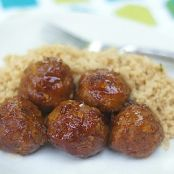 Honey Chipolte Turkey Meatballs