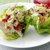Picnic Potato & Chicken Salad Cups
