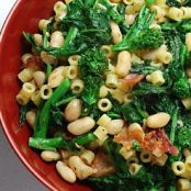Broccoli Rabe with Cannellini and Pasta