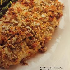 SUNFLOWER SEED CRUSTED ORANGE ROUGHY