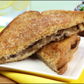 Melty Mushroom-Swiss Grilled Cheese