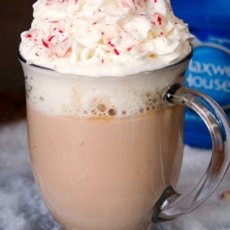 Peppermint White Chocolate Latte Recipe