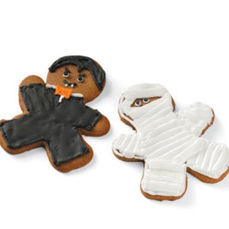 Monster Cut Out Cookies