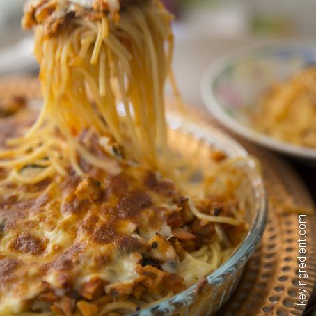 Baked Spaghetti with Ricotta