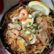 Pancit Malabon Phillipine Seafood and Noodles