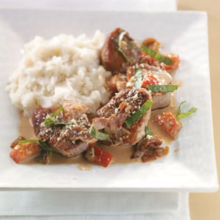 Tuscan Pork Medallions for Two