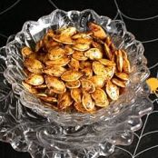Pumpkin Seeds Roasted Italian style