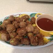 Mini BBQ Turkey Meatballs
