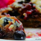 Blueberry Cream Cheese French Toast Roll Up