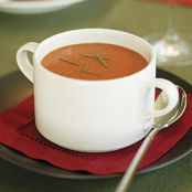 Tomato Soup with Orange & Cumin