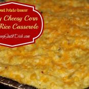 Spicy Rice & Corn Casserole