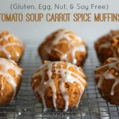 Tomato Soup Carrot Spice Muffins (Gluten Free & Allergy Friendly)