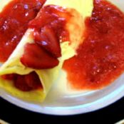 HCG Diet Phase 2/3 Strawberry Crepes
