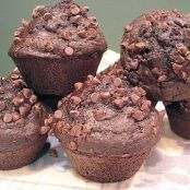 Devil's Food Chocolate Muffins