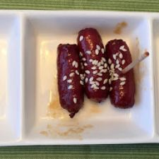 Cocktail Sausages Asian Style