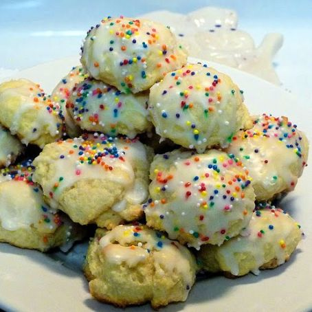 Italian Ricotta Christmas Cookies Recipe 4 7 5