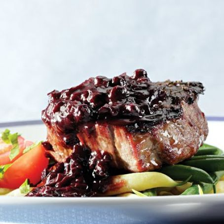 Blueberry-Bourbon Barbecue Sauce