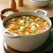 Turkey Gnocci Soup