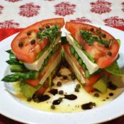 Stacked Caprese Salad