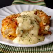 Quick & Easy Crispy Cheddar Chicken