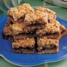 Apple Berry Streusel Bars