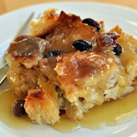 Croissant Bread Pudding With Bourbon Sauce Recipe 4 1 5