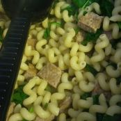Sausage and Spinach with Pasta