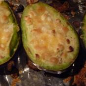 Grilled Avocado with Feta