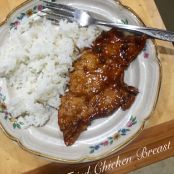 Glazed Pan Fried Chicken