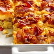 Bacon & Hash Brown Egg Bake