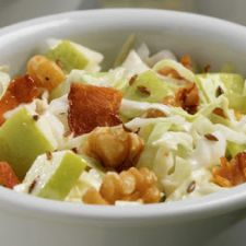 Apple Bacon Walnut Salad