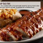 Apple Cider Baby Back Ribs
