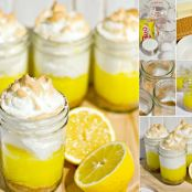 MYO Lemon Meringue Pies in a Jar