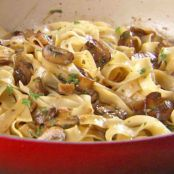 Pasta with Sautéed Mushrooms