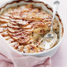 Scalloped Potatoes and Leeks