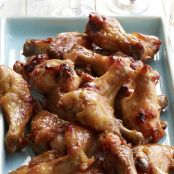 Dijon Chicken Wings