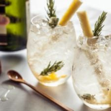 Pineapple Rosemary Crush Cocktails