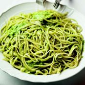 Linguini with Jalepeno Pesto - Mario Batali