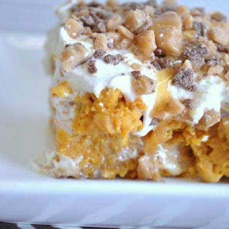Better Than Sex Pumpkin Dessert