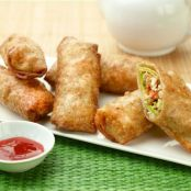 Chicken Avocado Egg Rolls