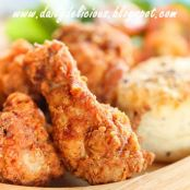 Parmesan Fried Chicken Drumettes