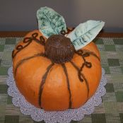 Pumpkin Shaped Spice Cake